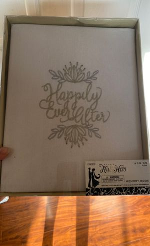 Wedding memory book for Sale in Patterson, CA