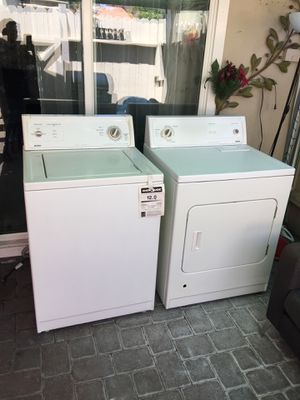 Washer and Gas Dryer Heavy Duty Like New for Sale in Costa Mesa, CA