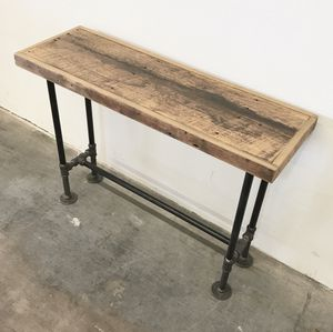 "Albert Reclaimed Wood Sofa Table 40"" Barnwood Console Table for Sale in Phoenix, AZ"