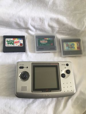 NeoGeo Pocket Color With Games for Sale in Palm Springs, CA