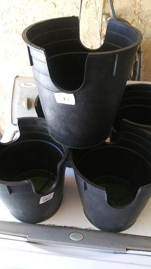 "Flower pot vases set:5 pieces sizes:9"" longer for Sale in Bloomington, CA"