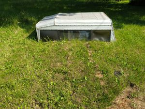 Chevy camper shell long bed for Sale in Indianapolis, IN