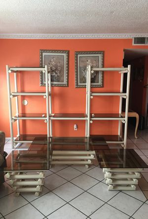 Set of 3 tables and tv stand for Sale in Las Vegas, NV