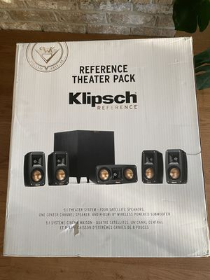 Klipsch Reference Theater Pack 5.1 Surround speaker System $500 for Sale in Center Valley, PA