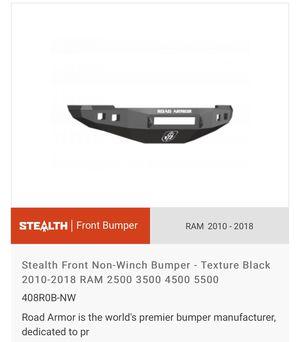 Dodge Front Bumper 2010-2018 (2500-3500) Road Armor for Sale in Silverado, CA