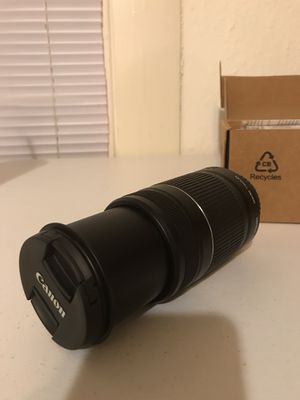 Canon 55-250mm Telephoto Zoom Lens for Sale in Austin, TX
