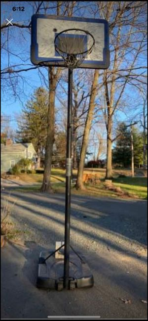 Basketball hoop in good condition for Sale in Durham, CT