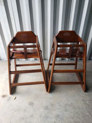 2 Winco Commercial High Chairs for Sale in North Haven, CT