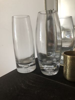 Two Class Vases for Sale in Alexandria, VA