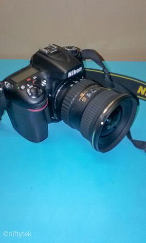 Nikon D7100 DSLR Camera + Tokina Lens for Sale in Mount Rainier, MD