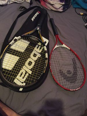Tennis rackets and carrying case for Sale in Phoenix, AZ