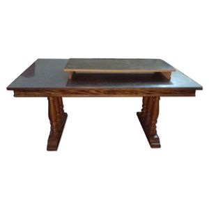 Natural Wood Dining Table Set for Sale in Brooklyn, NY