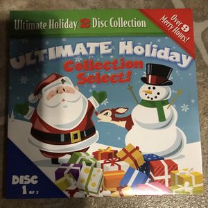 Disk One Of The Ultimate Holiday Collection Dvd Movie for Sale in Elma, WA