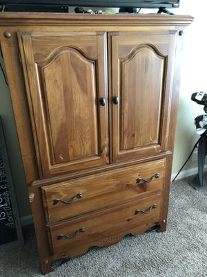 Dresser ..... nice two drawer, 3 shelf dresser for Sale in Brentwood, TN