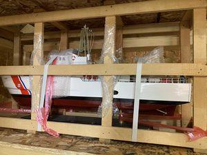 United state coast guard USCG 110 feet patrol wood wooden boat display model for Sale in Phoenix, AZ