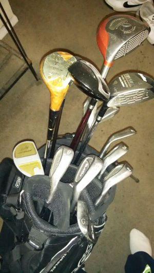 Golf bag and clubs for Sale in Denver, CO