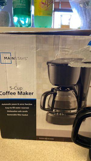 5 cup coffee maker for Sale in Chula Vista, CA