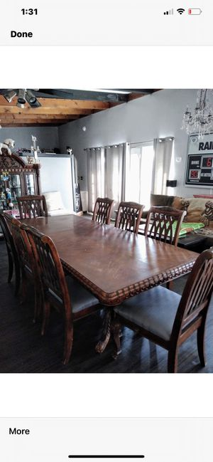 Wood dinning table for Sale in Duarte, CA