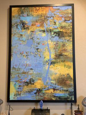 "Original Acrylic Painting by Beverly McCarty - 51"" x 75"" for Sale in El Dorado, AR"