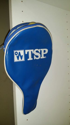 TSP Table Tennis Ping Pong Racket Paddle Case w/ Ball Storage for Sale in Las Vegas, NV