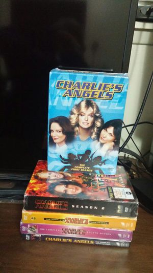 CHARLIE'S ANGELS DVD'S-5 SEASONS for Sale in Burien, WA