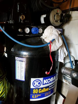 $650 OBO Kobalt 80 gallon air compressor for Sale in St. Louis, MO