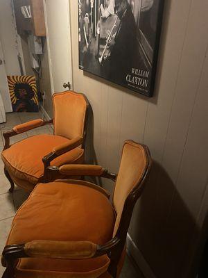 Orange Vintage Accent Chair's for Sale in Washington, DC