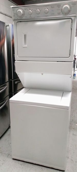 STACKABLE🎉WHIRLPOOL GAS LAUNDRY CENTER🎉27INCH🎉ENERGY STAR for Sale in Lakewood, CA