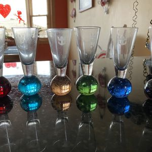 6 Royal Caribbean Shooter Shot Glasses for Sale in Tinley Park, IL