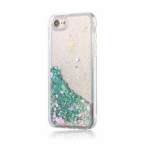 Apple iPhone 7 Bling Hybrid Liquid Glitter Rubber Protective Case Cover Green(blingrubber-ip7-green-USA ) for Sale in Riverside, CA