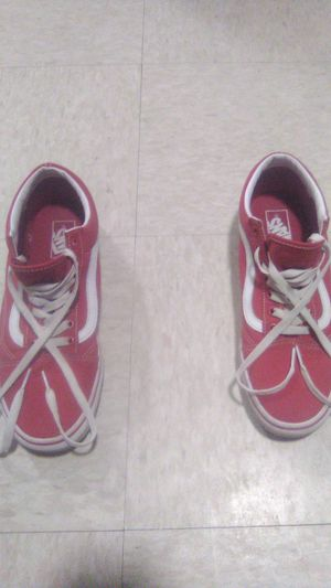 Red vans 9 1/2 for Sale in Holtville, CA