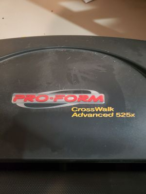 Proform Crosswalk Advanced 525x with free weslo bike for Sale in Andover, KS