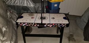 Old vintage NHL air hockey table first 60.00 owns it for Sale in La Mirada, CA