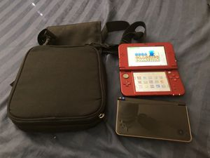 Nintendo 3ds xl and ds xl with 80plus games modded for Sale in Pompano Beach, FL