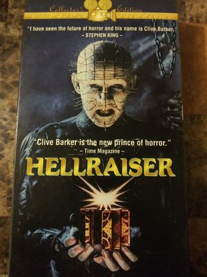 First hellraiser vhs for Sale in Centreville, IL