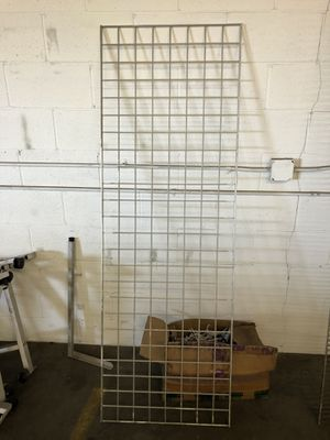 Metal Grid wall 6' Long.....!!!!! for Sale in San Marino, CA