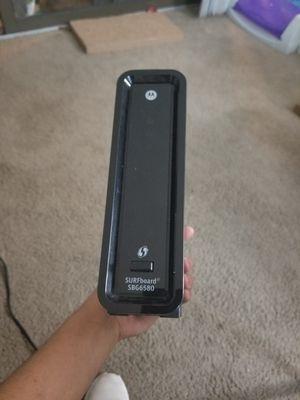 Motorola modem for Sale in Arlington, TX