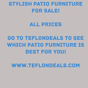 All Types Of Patio Furniture for Sale in Houston, TX