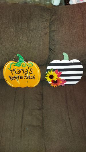 Custom pumpkins for the holidays for Sale in Mesa, AZ