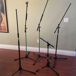 ON STAGE Various microphone Stands for Sale in Simi Valley, CA