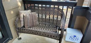 Wicker love seat for Sale in Fountain, CO