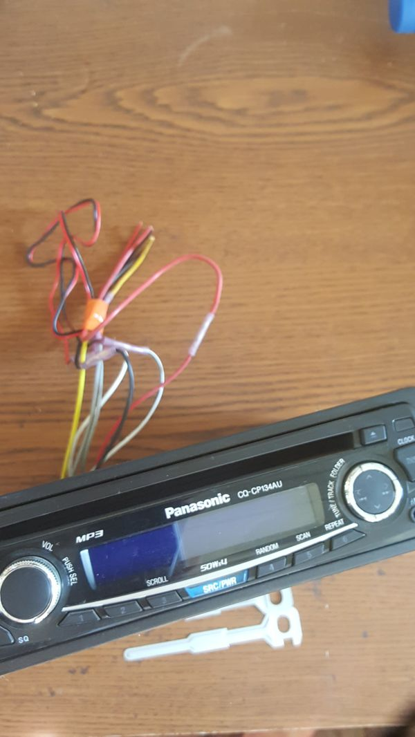 Fabulous Panasonic Car Stereo Model Cq Cp134Au For Sale In Tacoma Wa Offerup Wiring Digital Resources Apanbouhousnl