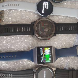 Garmin Fenix 3 Fitbit Ionic samsung Galaxy watch Active 2 Waterproof for Sale in Elk Grove, CA