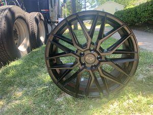NICHE M190 GAMMA Matte Black Rims for Sale in West Hartford, CT