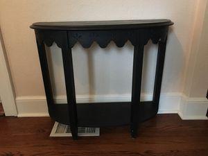 Black farm house console table for Sale in Orlando, FL