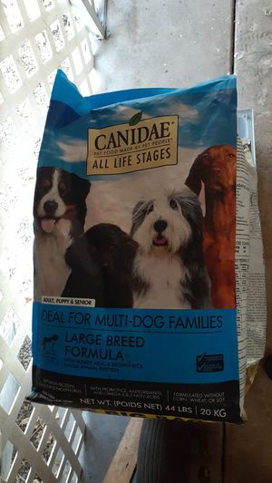 Canidae large breed dog food 44 lbs for Sale in Yucaipa, CA