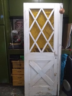 Stained glass door for Sale in Diamond Bar, CA
