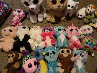 Beanie Boo's Ty Plushies Lot for Sale in Greenwood,  IN