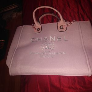 Pink Chanel Large Bag Purse Handbag for Sale in Clearwater, FL