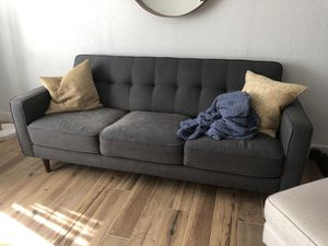 Living spaces mid century modern style couch for Sale in Phoenix, AZ